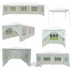 10'X 10'/20'/30' Canopy Wedding Party Tent Gazebo Pavilion withWalls Cover Outdoor