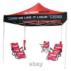 10 x 10 Instant Folding Tent outdoor Pop Up canopy Gazebo Patio DS18 Life Style