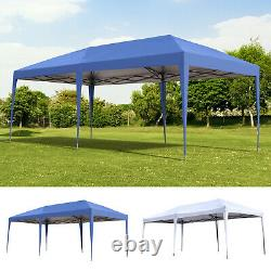 10 x 20 Outdoor Gazebo Pop Up Canopy Party Tent with 2-Tier Roof