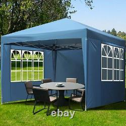 10'x10' Ez Outdoor Pop Up Canopy Party Folding Tent Shelter Gazebo With Carry Bag