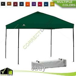 10'x10' INSTANT CANOPY Gazebo Straight Leg POP UP TENT Outdoor Tailgate Shelter