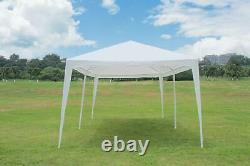 10'x20' Outdoor Canopy Party Wedding Tent White Heavy Duty Pavilion Event Gazebo