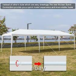 10'x20' Party Tent Outdoor Gazebo Canopy Tent Wedding With 4 Removable Walls 4