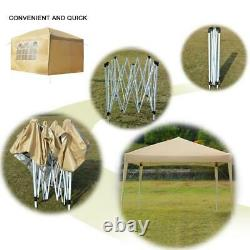 10'x20' Pop Up Canopy Tent Party Wedding Outdoor Patio Gazebo Removable Wall