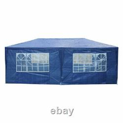 10'x20' Tent Canopy Party Wedding Outdoor Patio Gazebo Removable Wall Cater Blue