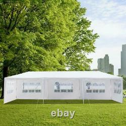 10'x30' Canopy Outdoor Wedding Party Tent Gazebo Pavilion with5/7/8 Walls Cover