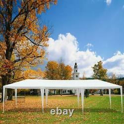 10'x30' Canopy Party Wedding Tent Gazebo Pavilion Outdoor Patio with 7 Sidewalls