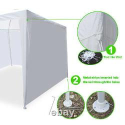 10'x30'Canopy Tent Party Wedding Outdoor Tent Heavy Duty Pavilion Events/ White