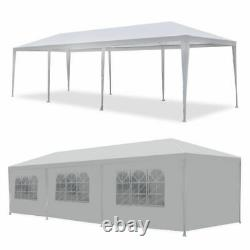 10'x30' Gazebo Canopy Party Tent Wedding Outdoor Pavilion Cater BBQ Waterproof