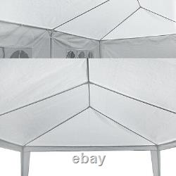 10'x30' Gazebo Canopy Party Wedding Outdoor Tent Pavilion Cater Events Beach BBQ