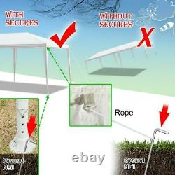 10'x30' Outdoor Gazebo Canopy Tent Wedding Party Tent Patio /w 8 Removable Walls