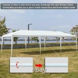 10'x30' Outdoor Party Wedding Tent Canopy Gazebo Pavilion Cater with 7 Walls
