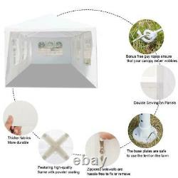 10'x30' Party Tent Outdoor Gazebo Canopy Tent Wedding With 7 Removable Walls 7