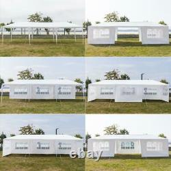 10'x30' Party Tent Outdoor Gazebo Canopy Tent Wedding With 8 Removable Walls 8