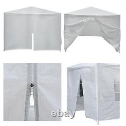 10'x30' White Outdoor Gazebo Canopy Wedding Party Tent 8 Removable Walls 8