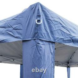 10X20' Outdoor EZ Pop Up Tent Folding Gazebo Wedding Party Canopy With 4 Sides