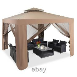 10x 10 Outdoor Tent Patio Garden Canopy Gazebo Party Tent WithMosquito Netting