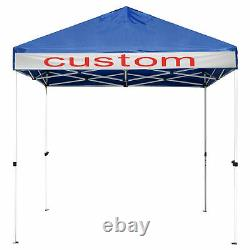10x10 ft Pop Up Canopy Outdoor Instant Folding Tent Party Wedding Gazebo 1080D