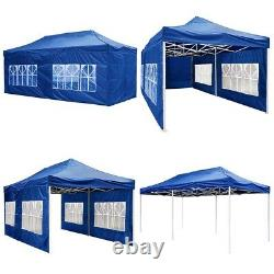 10x20ft Pop Up Gazebo Canopy Outdoor Wedding Tent Folding Camping Party 420D