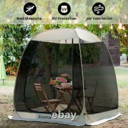 Alvantor Screen House Room Camping Tent Outdoor Canopy Dining Gazebo Pop Up 6 ft