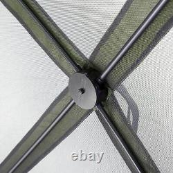 CLAM Quick-Set Escape Portable Outdoor Gazebo Canopy Shelter and 6 Wind Panels