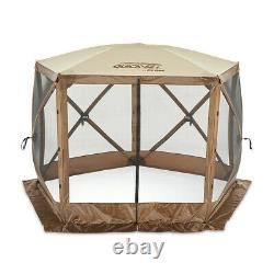 CLAM Quick-Set Venture 9 x 9 Ft Portable Outdoor Camping Gazebo Canopy Shelter