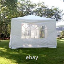 Outdoor 10'x 30' Party Wedding Tent 7 Sidewalls Canopy Gazebo Pavilion Cater