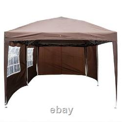 Outdoor 10'x20' EZ POP UP Gazebo Canopy Tent Folding with Carry Bag