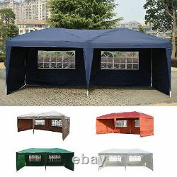 Outdoor 10'x20' EZ POP UP Gazebo Wedding Party Tent Canopy Folding with Carry Bag