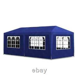 Outdoor Gazebo Canopy 10'x20' Party Tent Event Tent Patio blue color