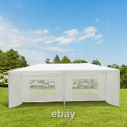 Outsunny 6m x 3m Garden Gazebo Marquee Canopy Party Tent Canopy Patio White