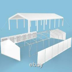 Peaktop Outdoor 20'X40' Party Tent Heavy Duty Wedding Gazebo Canopy WithCarry Bags