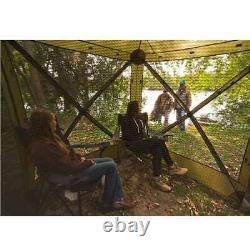Quick-Set Traveler Portable Camping Outdoor Gazebo Canopy Shelter, Green (Used)