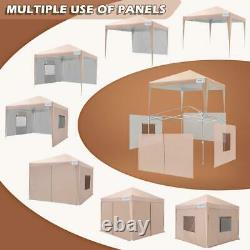 Quictent EZ Pop Up Canopy 10'X10' Outdoor Commercial Party Tent Gazebo Shelter