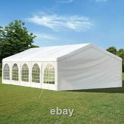 Quictent Heavy Duty Party Tent 32'X16' Wedding Shelter Canopy Outdoor Gazebo US