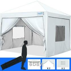 Quictent Outdoor Wedding Shelter Pop Up Canopy Party Folding Tent Gazebo 10X10