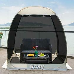 Screen House Room Camping Tent Outdoor Canopy Dining Gazebo Pop Up Sun