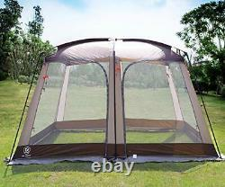 Screen House Room Outdoor Screened Canopy Tent Zippered Pop Up Gazebos