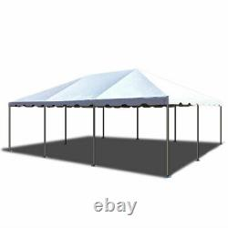 Weekender 20'x30' White PVC Tent Party Canopy West Coast Frame Outdoor Gazebo