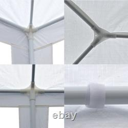 White 10'x30' Wedding Outdoor Gazebo Marquee Tent Party Canopy Cater Events